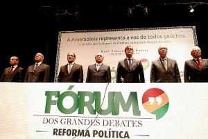 Comissão de reforma política aborda  sistema majoritário para deputados