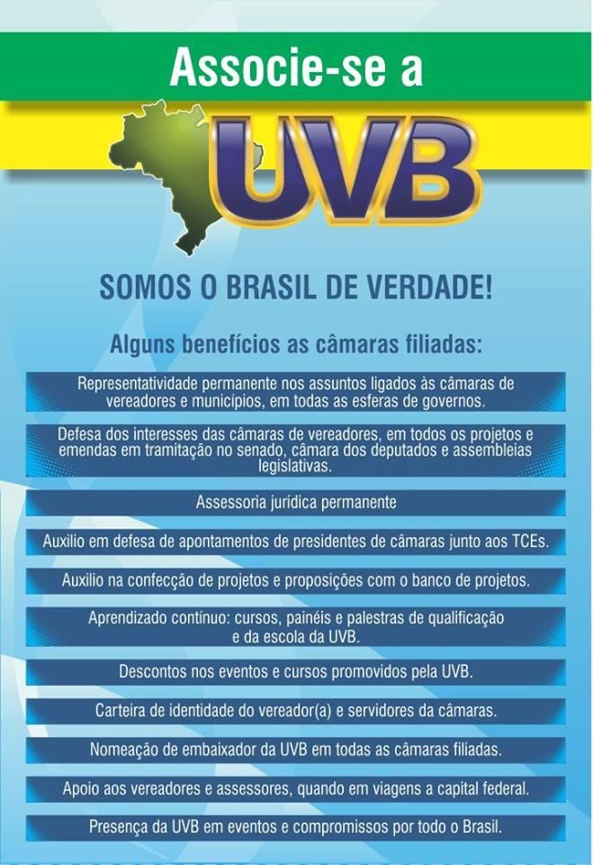 associe-se UVB