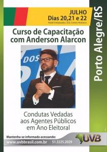 Porto Alegre: Curso Condutas Vedadas/Eleições 2016 com Dr. Anderson Alarcon