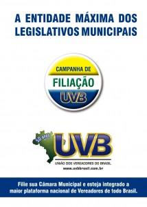 UVB lança Campanha de Filiação para Câmaras Municipais
