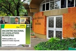 Encontro Nacional de Legislativos Municipais começa em Encantado