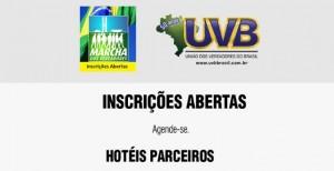 Programe-se para a Marcha dos Vereadores: Hotéis Conveniados