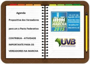 Vereadores, na Marcha oportunidade de construir uma agenda para o Pacto Federativo