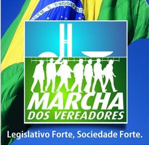 Marcha dos Vereadores em Brasília começa dia 18 de Agosto