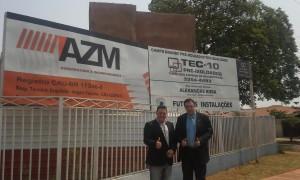 Campo Grande: presidente da UVB visita obras da UCVMS