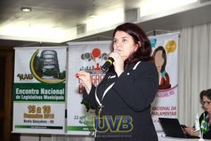 Elisiane Silva falará sobre o Poder Legislativo Municipal e seus Desafios