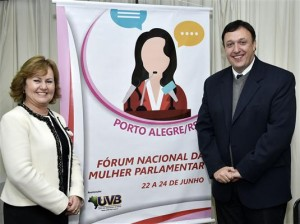 Presidente Silvana Covatti é homenageada pela UVB