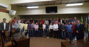 Vereadores do Congresso da UVB visitam a Câmara de Gramado