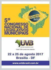 5° Congresso Nacional de Legislativos Municipais