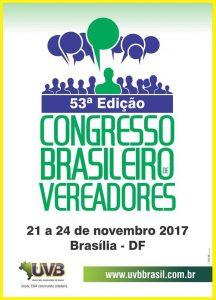 53° Congresso Brasileiro de Vereadores