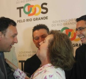 Silvana Covatti assume o governo do RS