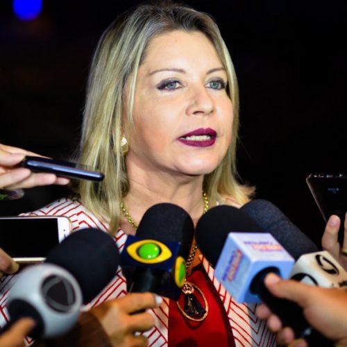 Juíza da Vara de Combate ao Crime Organizado de Cuiabá na Marcha 2017