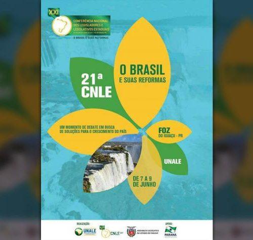 UVB na 21° CNLE da UNALE em Foz do Iguaçu, mega evento sem custo de inscrição