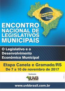 Encontro Nacional de Legislativos Municipais – Canela e Gramado/RS