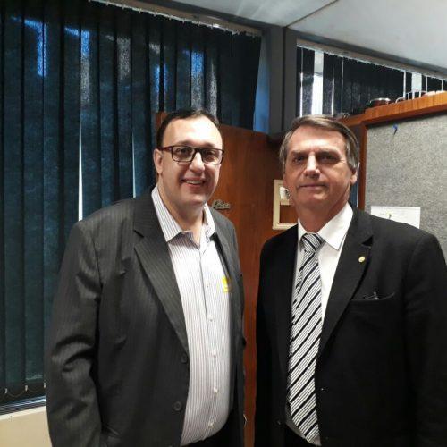 Jair Bolsonaro é convidado para o 5° Congresso Nacional de Legislativos Municipais