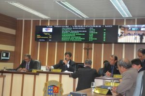 Sessão Extraordinária tumultuada na Câmara de Vereadores de São João da Barra