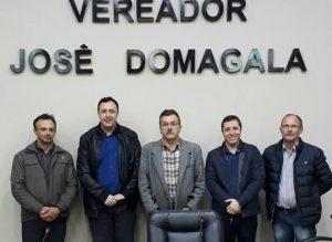Presidente da UVB visita município de Dom Feliciano