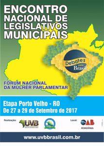 Porto Velho de 27 a 29/09, Inscrições sem custo!