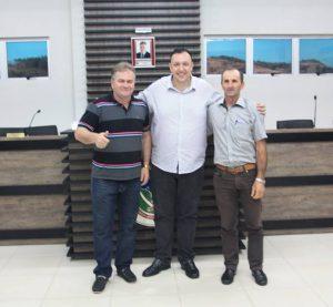 Presidente da UVB visita Câmara de Pinhal no Rio Grande do Sul