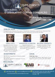Seminário: O Legislativo como ferramenta contra corrupção