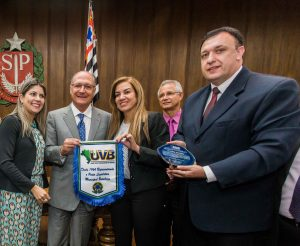 Alckmin recebe porta-vozes da União dos Vereadores do Brasil