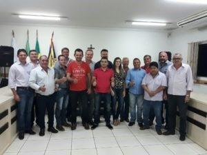 Vereadores de Rio Brilhante, Nova Alvorada, Douradina e Itaporã se unem por mais representatividade estadual