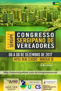 UVCS promove Congresso de Vereadores em Aracaju/SE