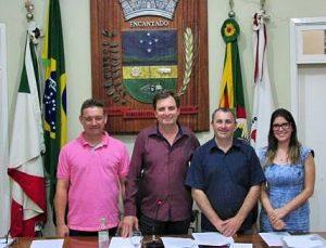 Marino Deves é o novo presidente da CMV de Encantado