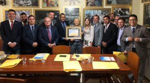 Vereadores visitam Siqueira, Assembleia e Câmara de Palmas