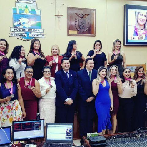 Medalha Destaque Mulher Brasil