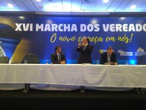 A participação de Levy Fidelix fecha os debates da XVI Marcha do Vereadores