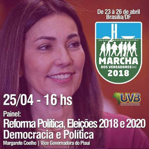 A Margarete vai falar do que ela mais entende: Política e leis