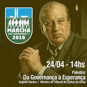 O Ministro Nardes vai estar lá, e você?