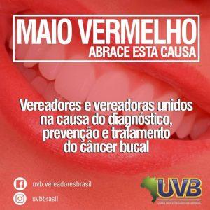 UVB entra na campanha contra o câncer bucal
