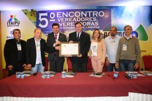 Conzatti homenageado pela ACAMOP em Foz do Iguaçu