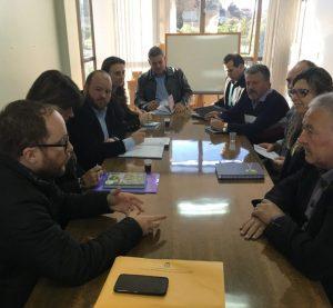 Parlamento Regional realiza reunião em Nova Prata