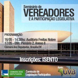 Seminário de Vereadores em Brasília