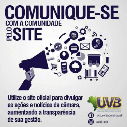 Comunicação nas Câmaras é incentivada pela UVB