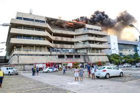 Incêndio atinge Assembleia Legislativa da Bahia destrói Sala da UVB/BA