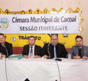 Cacoal/RO – Última Sessão Ordinária foi realizada no Riozinho