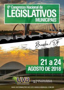 6° Congresso Nacional de Legislativos Municipais