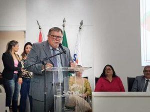 Vereador de Murici recebe Comenda na Câmara de Maceió