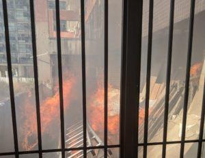 Prédio onde fica a sede da UVB em Brasília é esvaziado após incêndio