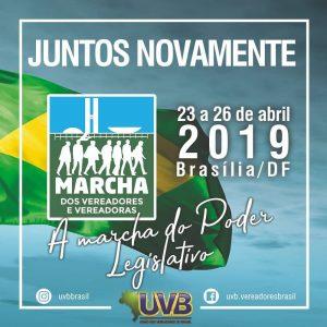 MARCHA DOS VEREADORES 2019