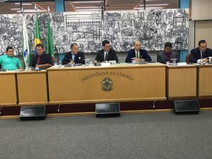 Presidente da UVB participa de sessão da câmara em Colombo/PR