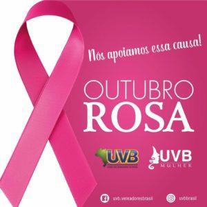 UVB engajada na campanha do Outubro Rosa