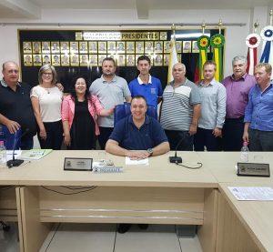 Presidente da UVB participa da Sessão da Câmara em Barros Cassal