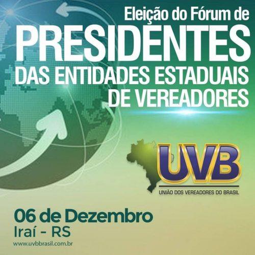 Presidentes estaduais escolhem nova diretoria do Fórum