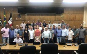 União dos Vereadores da Baixada Santista elege novo presidente