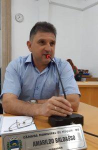 Amarildo Baldasso comandará a Câmara de Muçum em 2019